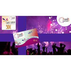 Carte cadeaux 50 € Electronique - PromoParcs et Spectacles