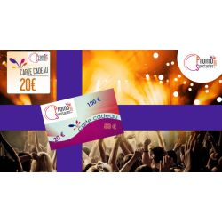 Carte cadeaux 20 € Electronique - PromoParcs et Spectacles