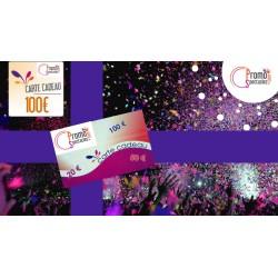 Carte cadeaux 100 € Electronique - Promo-Spectacles.com